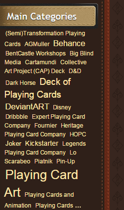 PlayingCardCollector.net-Main-Categories