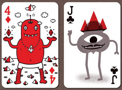 Black-Rock-Collective-Playing-Cards-Vol-2-Four-of-Diamonds-Jack-of-Clubs