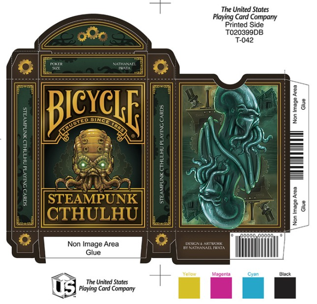 Bicycle-Steampunk-Cthulhu-Playing-Cards-by-Nat-Iwata