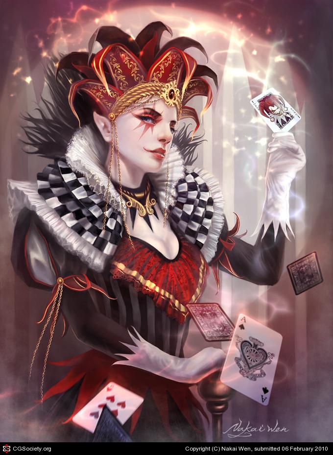 Playing Card Art Joker By Nakai Wen PLAYING CARDS ART