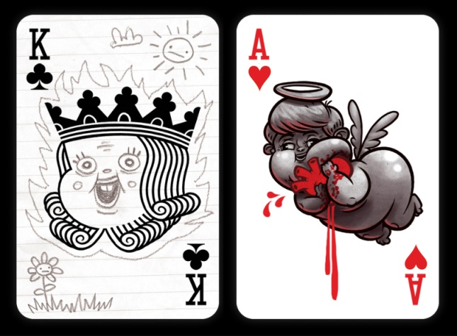 Black-Rock-Collective-Playing-Cards-Vol-2-King-of-Clubs-Ace-of-Hearts