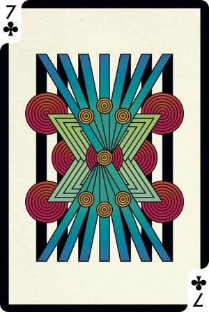 Creative-Cards-by-Digital-Abstracts-Seven-of-Clubs
