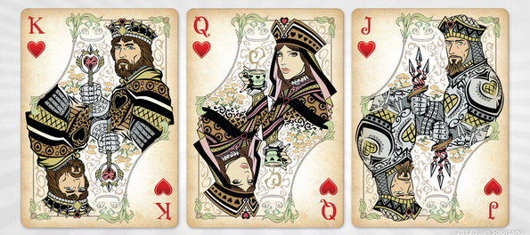 Alice-of-Wonderland-Playing-Cards-by-Juan-Solorzano