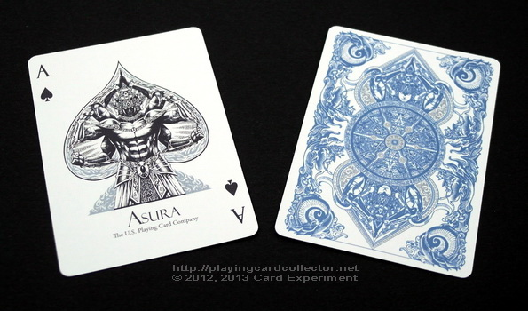 Asura_Playing_Cards_Blue_Ace_of_Spades