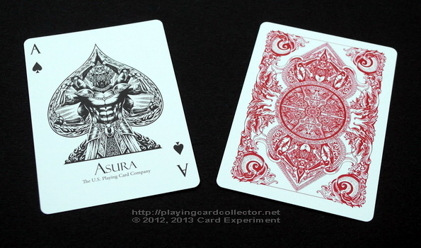 Asura_Playing_Cards_Red_Ace_of_Spades