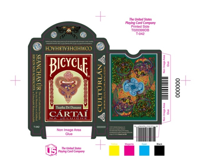 Bicycle-Celtic-Myth-3d-Edition-Playing-Cards-by-Culturlan-Enterprises-on-Kickstarter