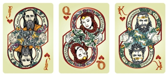 Bicycle-Celtic-Myth-3d-Edition-Playing-Cards-by-James-Acken