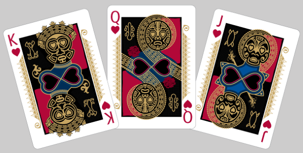 Bicycle-RongoRongo-Playing-Cards-Courts-Hearts