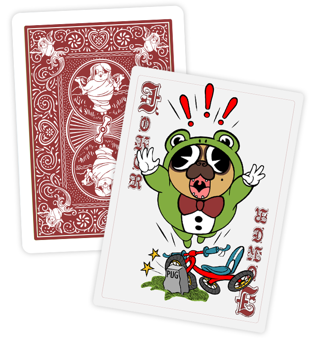 Bicycle_The_Royal_Dogs_Playing_Cards_Joker_2