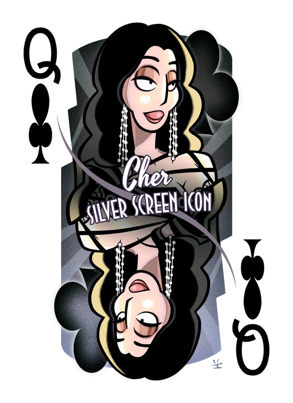 Cher-queen-of-clubs-by-Inkjava