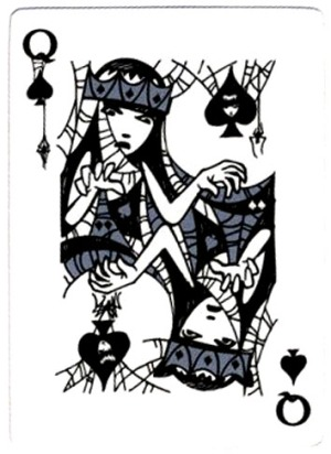 Emily-the-Strange-Playing-Cards-Queen-of-Spades