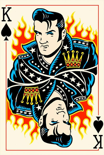 Elvis-Presley-King-of-Spades-by-Vince-Ray