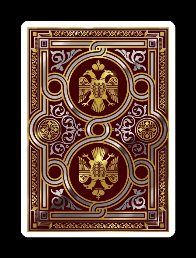 Icons-Playing-Cards-by-Lotrek-Imperial-Edition-Back-Design