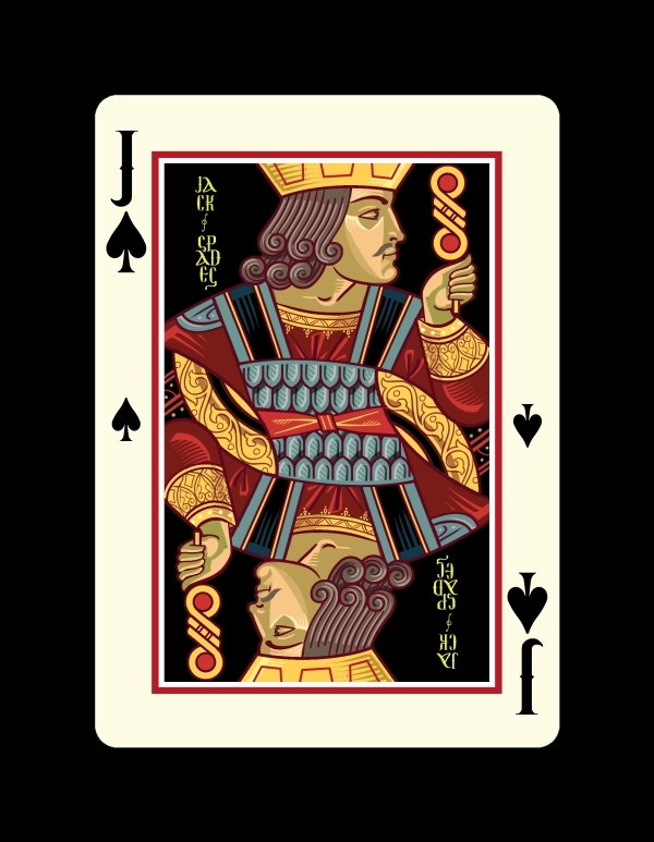 Icons-Playing-Cards-by-Lotrek-Imperial-Edition-Jack-of-Spades