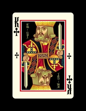 Icons-Playing-Cards-by-Lotrek-Imperial-Edition-King-of-Clubs