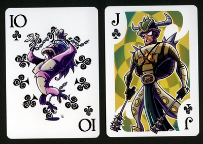 INKJAVA-Playing-Cards-Clubs-10-Jack-of-Hearts