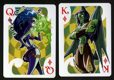 INKJAVA-Playing-Cards-Queen-of-Diamonds-King-of-Diamonds