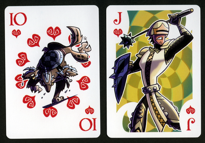INKJAVA-Playing-Cards-Hearts-10-Jack-of-Hearts