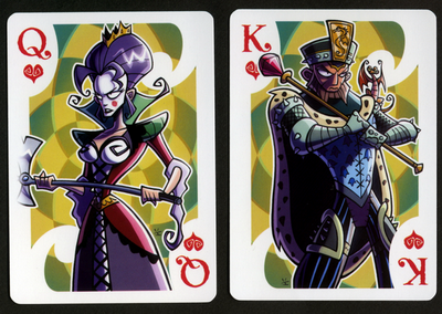INKJAVA-Playing-Cards-Queen-of-Hearts-King-of-Hearts