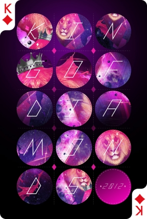 Creative-Cards-by-Digital-Abstracts-King-of-Diamonds