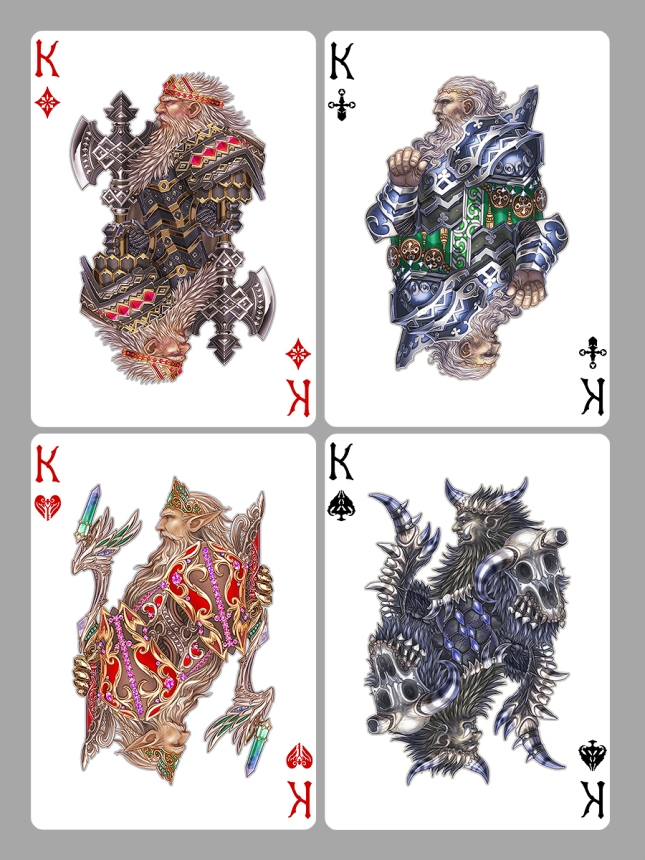 Medusa_Playing_Cards_Kings
