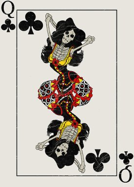 Playing_Cards_by_MushfaceComics_Queen_of_Clubs
