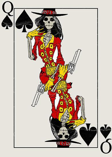 Playing Card Art: Playing Cards by MushfaceComics ...