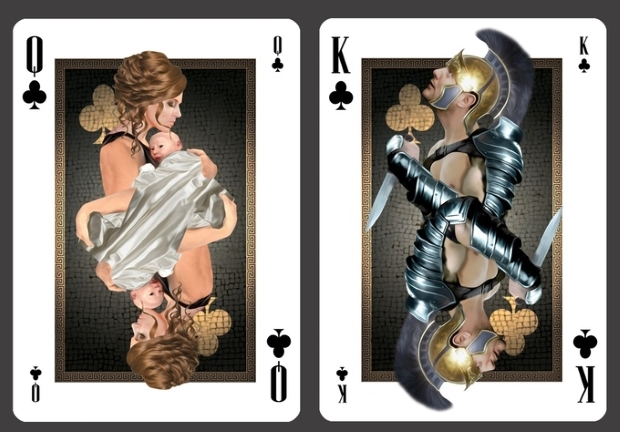 Pompeii-Playing-Cards-by-RJ-Tomlinson-Clubs