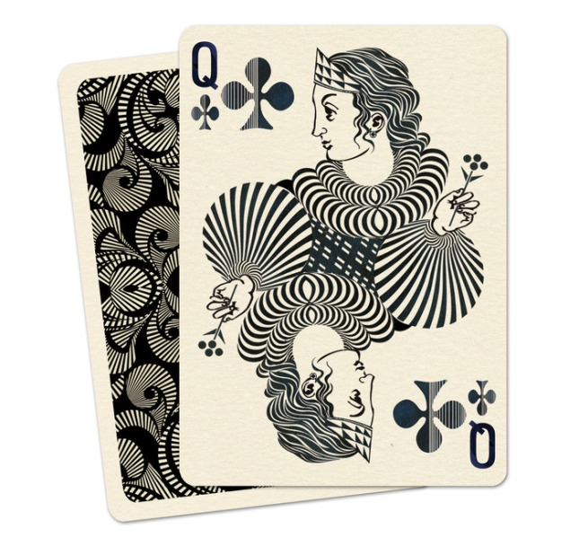 Royal_Optik_Playing_Cards_The_Queen_of_Clubs