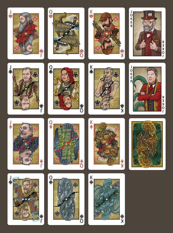 Steampunk_Cthulhu_Playing_Cards_Court_Cards