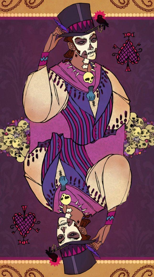 Voodoo_Loa_Cards_King_of_Spades_UlaFish