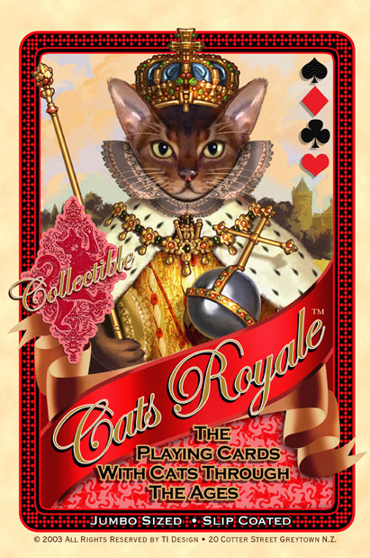 Cats-Royale-Playing-Cards-by-Gerad-Taylor
