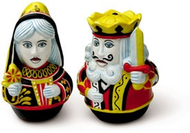 King-And-Queen-Of-Spades-Salt-&-Pepper-Set