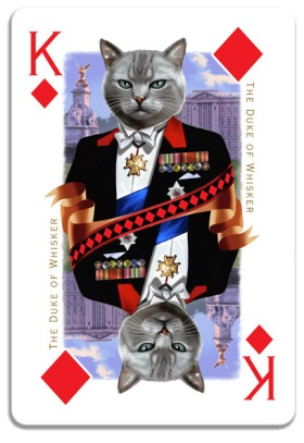 Cats-Royale-Playing-Cards-by-Gerad-Taylor-King-of-Diamonds
