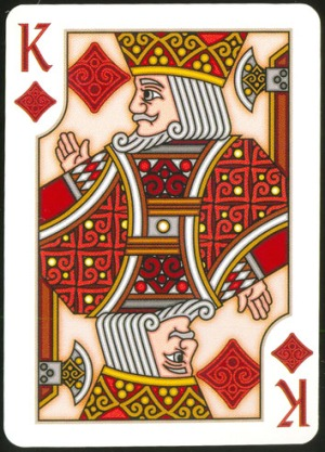 Pippoglyph-Playing-Cards-by-BentCastle-Workshops-King-of-Diamonds