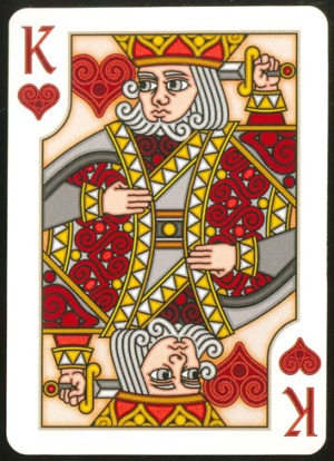 Pippoglyph-Playing-Cards-by-BentCastle-Workshops-King-of-Hearts