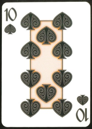Pippoglyph-Playing-Cards-by-BentCastle-Workshops-Ten-of-Spades