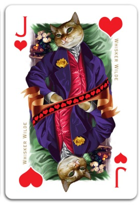 Cats-Royale-Playing-Cards-by-Gerad-Taylor-Queen-of-Hearts