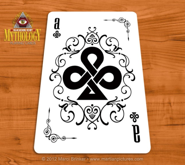 Gods_of_Mythology_Playing_Cards_Ace_of_Clubs