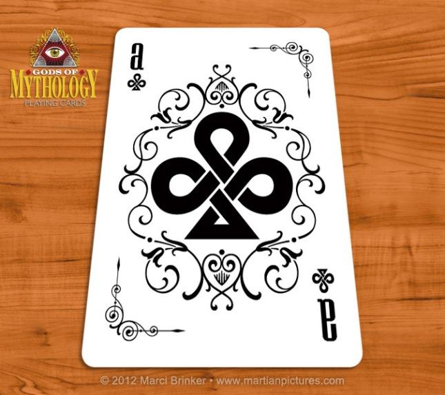 Gods_of_Mythology_Playing_Cards_Ace_of_Clubs