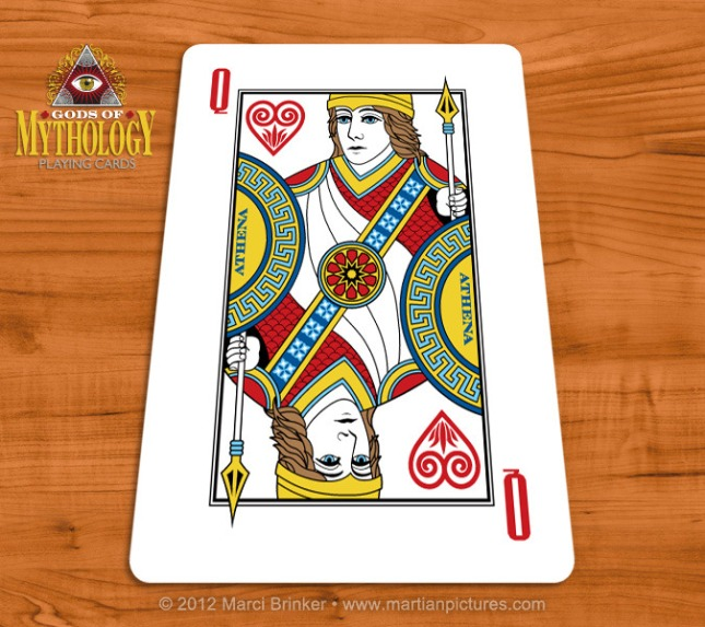 Gods_of_Mythology_Playing_Cards_Athena