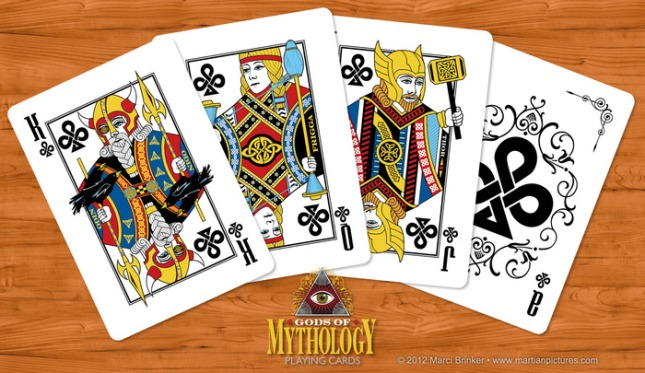 Gods_of_Mythology_Playing_Cards_Clubs