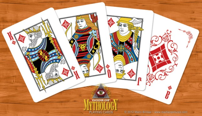 Gods_of_Mythology_Playing_Cards_Diamonds