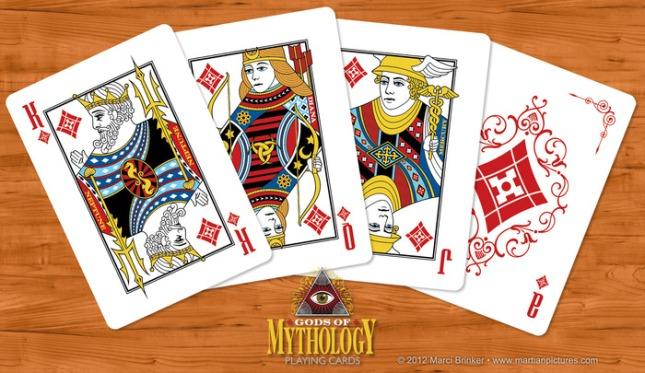 Gods_of_Mythology_Playing_Cards_Diamonds