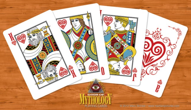 Gods_of_Mythology_Playing_Cards_Hearts