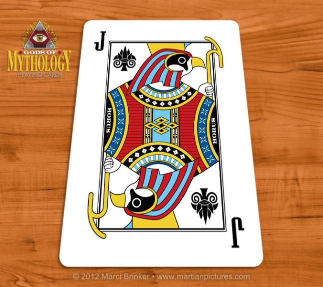 Gods_of_Mythology_Playing_Cards_Horus