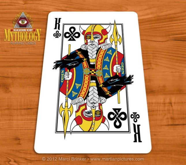 Gods_of_Mythology_Playing_Cards_Odin