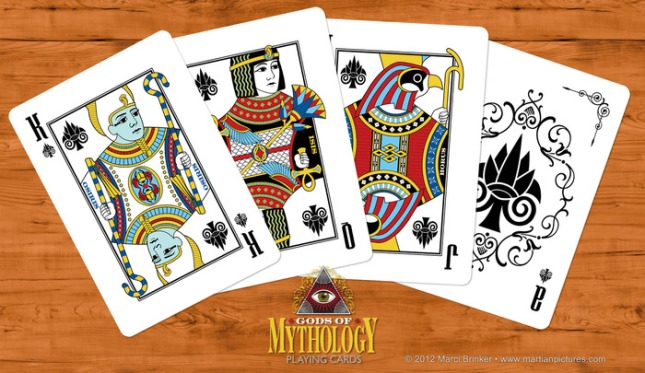 Bicycle-Gods-of-Mythology-Playing-Cards-by-Marci-Brinker-Spades