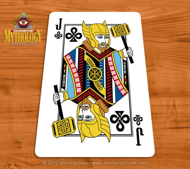 Gods_of_Mythology_Playing_Cards_Thor