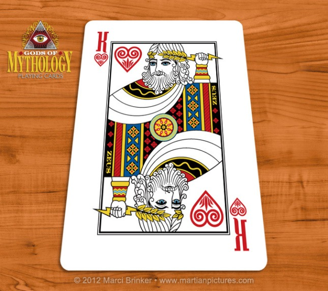 Gods_of_Mythology_Playing_Cards_Zeus